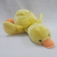 ODM OEM 20cm plush animal duck toy / stuffed soft musical toy duck