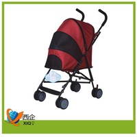 Child commodities 4 wheels pet stroller