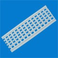 NUORAN PVC plastic or Metal Galvanized aluminum gutter guard/ lowes gutter guard/ leaf gutter guards