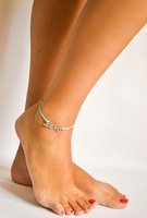fashion cheap rope love anklet for footwear jewelry ANK798-007