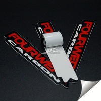 0.12mm water proof adhensive for 5 two tone metal skin sticker with cham