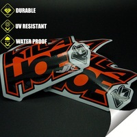 0.12mm water proof adhensive decepticon emblem auto car sticker