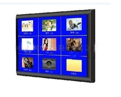 15 Inch LCD touchscreen USB player monitor for POP advertising with mounting bracket