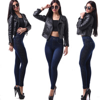 Hot Selling Fashion Women Tight Pants Sex Legging Pants For Lady Wholsale Price Cheap Denim Jean
