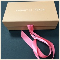 Free Coupon Full Printing Custom Romantic Beautiful Paper Small Gift Box