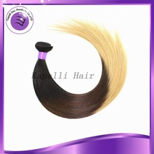 "6a 8-30""Virgin New Arrival Human Hair Made In China ,Brazilian Straight Ombre Hair Extension sliky straight cheap human hair"