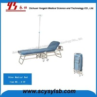 Wholesale steel Foldable Hospital Recliner Chair Bed for sale