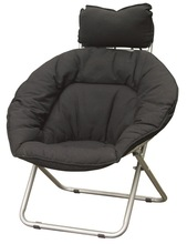 More Popular cushion seat and back folding sling chair,sleep chair