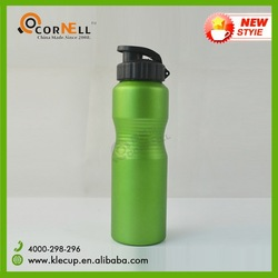 750ml large capacity aluminum sport hot infuser water bottle with nozzle