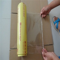 pvc cling film soft hardness wrapping film for food fresh machine