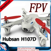 electrical Top toy hubsan x4 H107D 4CH 6-axis FPV 5.8G rc quadcopter dron helicopter with camera transmitter RTF