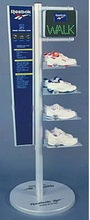 GU-M1508 best quality hotsell special sport shoe metal display rack
