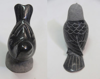 Hand Carved Stone Birds for Decoration