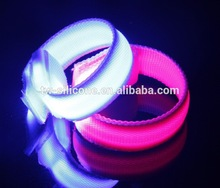 New product 2015 christmas gift party led flashing bracelet china supplier