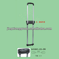 2015 telescopic pole locking mechanisms leisure luggage parts bag handle accessories made in china