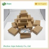 s452 Customized LOGO cubic fancy kraft boxes cargo for jewelry