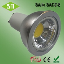 GU10 MR16 MR11 Solid Aluminum 5W LED Spotlight High quality Warm White