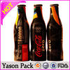 YASON water bottle shrink lable printing/express bag with pocket pvc shrink wrapping wateproof bottle labels pvc shrink sleeve l