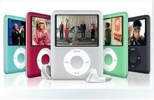 8GB 3rd Gerneration 1.8 Inch Mp3 Mp4 Player Music Radio & Video Player Cheap Mp3 Players