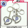 Customized design 3d famous brand logo customized key chain