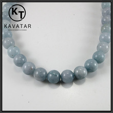 Grey color pearl glass beads , different colors and sizes are available