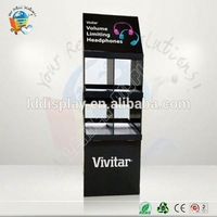 Advertising products cardboard display pedestals