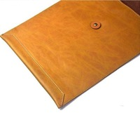 High End Book Pouch Cover Universal Pouch Leather Protect Sleeve for ipad air