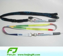 custom design promotion neck strap ball pen neck strap pen