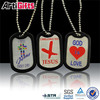 Hot selling casting cross dog tag