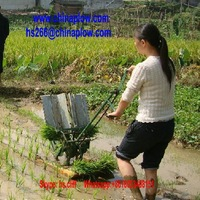 Factory sale 2 rows manual rice planter