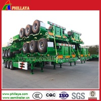 High Quality 3C/ISO Certificated Tractor Trailer Dolly Semi-Trailer Container Chassis For 20-53FT Containers