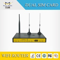 F7B32 mobile vehicle 3g dual sim wireless router failover load balance 3g dual sim card vpn router