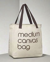 blank canvas wholesale tote shopping bags