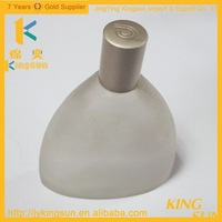 200ml refillable triangle glass spray perfume bottles