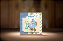 New Born Baby Funny Lovely Greeting Card