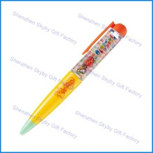 3D Floating Liquid Glitter piano pen