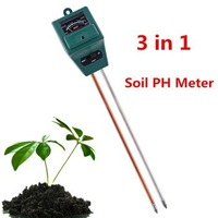 Multifunction Soil PH Moisture Meter Soil Test Kits light meter For Garden Soil