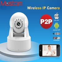Mustcam H806P 720P Indoor OnVif Camera Two-Way Audio HD Wireless Mini Kamera with WPS Fuction