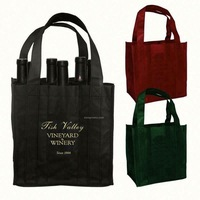top quality high quality polyester wine bag