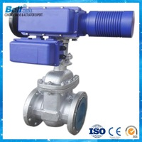 Non rising stem motorized gate valve PN16