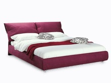red fabric bedroom furniture bed furniture bedroom single bed in wood beds