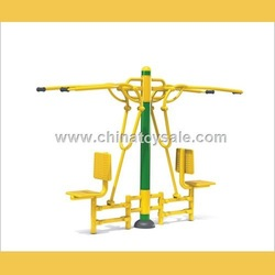 China cheap outdoor playground sit up exercise equipment