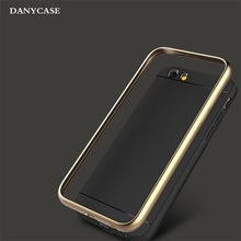 good price for i phone 6 cover, shockproof metal bumper tpu back cover for iphone 6 armor case