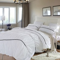 Bed cover with elastic