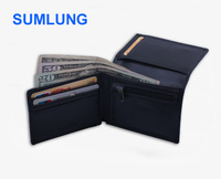 Man Genuine Leather RFID Wallet for Credit Card Holder ID Blocking Anti Scan RFID Blcoker