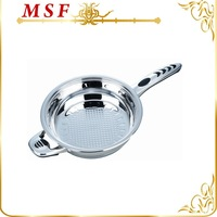 MSF-3688-24cm frypan durable stainless steel frypan as seen on tv capsulated induction bottom induction compatible fry pan
