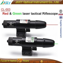 Tactical red and green dot laser sight riflescope for hunting