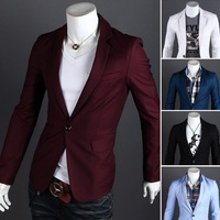 Fashion Men Blazers designs,Single Button Outerwear Casual slim fit blazer, man jacket
