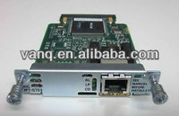 1-Port RJ-48 Multiflex Trunk-E1 G703 supported on 2800/3800 VWIC-1MFT-G703