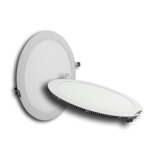 Ultra-slim ceiling panel 85-265v 6w round led panel light